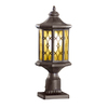 allen + roth Hardaway 17-3/4-in Marbella Wrought Iron Post Light
