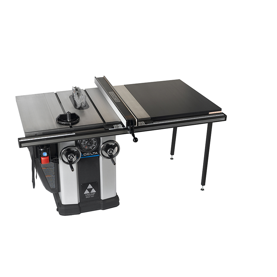 Shop delta 12 4 amp 10 in table saw at Table saw fence reviews