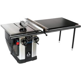 Shop delta unisaw 15 amp 10 in table saw at for 10 inch table saw lowes