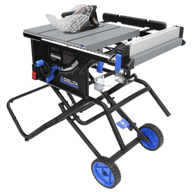 Shop delta 6 000 series 15 amp 10 in table saw at for 10 inch table saw lowes