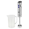 KALORIK 2-Speed Stainless Steel 400-Watt Immersion Blender with Accessory Jar