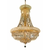 Luminous Lighting 14-Light Gold Chandelier