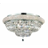 Luminous Lighting 28-in Chrome Ceiling Flush Mount
