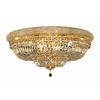 Luminous Lighting 36-in W Gold Ceiling Flush Mount