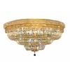 Luminous Lighting 42-in W Gold Ceiling Flush Mount