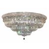 Luminous Lighting 42-in W Chrome Ceiling Flush Mount