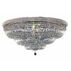Luminous Lighting 48-in W Chrome Ceiling Flush Mount