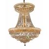 Luminous Lighting 28-Light Gold Chandelier