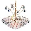 Luminous Lighting 18-in 8-Light Gold Standard Chandelier