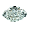 Luminous Lighting 12-in W Chrome Ceiling Flush Mount