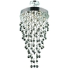 Luminous Lighting 9-Light Chrome Chandelier
