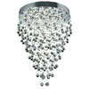 Luminous Lighting 12-Light Chrome Chandelier