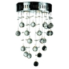 Luminous Lighting 12-in W 1-Light Chrome Pocket Wall Sconce