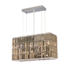 Luminous Lighting 8-Light Chrome Chandelier