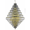 Luminous Lighting 42-in 38-Light Gold Standard Chandelier