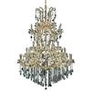 Luminous Lighting 54-in 61-Light Gold Standard Chandelier