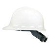 Safety Works Quick Adjusting Ratchet White Hard Hat