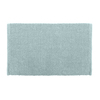Colordrift Popcorn 20-in x 30-in Aqua Cotton Bath Rug