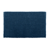 Colordrift Popcorn 20-in x 30-in Blue Cotton Bath Rug