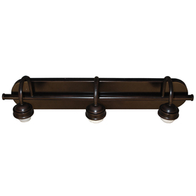 Portfolio 3-Light D&C Dark Oil-Rubbed Bronze Bathroom Vanity Light