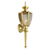 Portfolio 23-1/2-in Brass Outdoor Wall Light