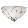 Portfolio 13.46-in W 1-Light Brushed Nickel Pocket Wall Sconce