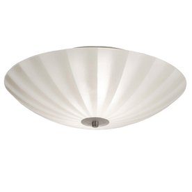 display product reviews for 1378in w silver frosted glass semiflush mount light