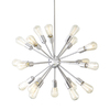 Style Selections Grayford 18-Light Brushed Nickel Chandelier