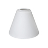 5.51-in H x 6.5-in W Frosted Opal Glass Mix and Match Mini Pendant Light Shade