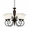 Portfolio 5-Light Oil-Rubbed Bronze Chandelier