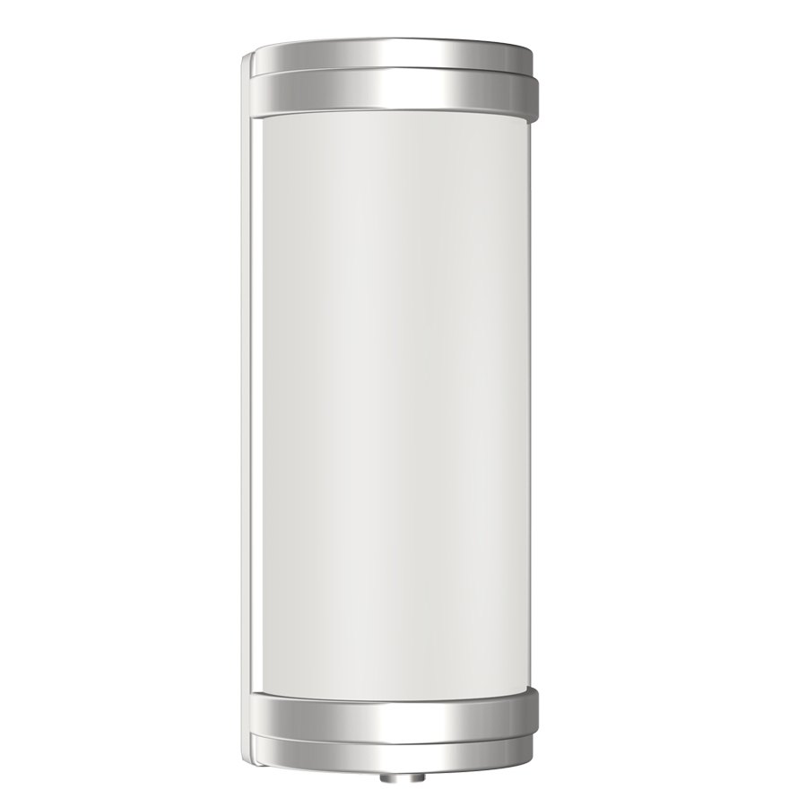Portfolio Wall Sconce Brushed Nickel : Shop Portfolio 5.2-in W 2-Light Brushed Nickel Arm Hardwired Wall Sconce at Lowes.com