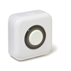 Iris White Security Alarm Button (Works with Iris)