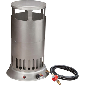 Shop procom 80 000 btu portable propane tank top heater at for Best propane heating systems