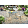 Garden Treasures Driscol 38-in W x 59.87-in L Rectangle Steel Dining Table