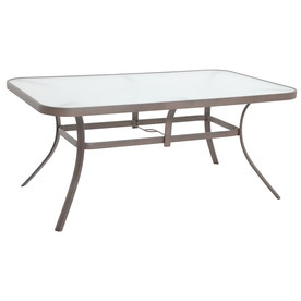 Shop Garden Treasures Hayden Island Rectangle Dining Table At