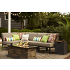 Garden Treasures Palm City 5-Piece Steel Patio Conversation Set