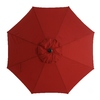 Garden Treasures Patio Umbrella (Common: 102.76-in W x 102.76-in L; Actual: 102.76-in W x 102.76-in L)