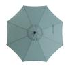 Garden Treasures Octagon Market Umbrella with Crank (Common: 102.76-in x 102.76-in; Actual: 102.76-in x 102.76-in)