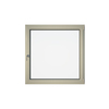 Eurowindows Group 48-in x 48-in Tilt and Turn Series 1-Lite Vinyl Triple Pane Replacement Casement Window