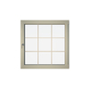 Eurowindows Group 48-in x 48-in Tilt and Turn Series 1-Lite Vinyl Double Pane Replacement Casement Window