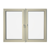 Eurowindows Group 72-1/2-in x 48-in Tilt and Turn Series 2-Lite Vinyl Triple Pane Replacement Casement Window