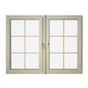Eurowindows Group 72-1/2-in x 60-in Tilt and Turn Series 2-Lite Vinyl Double Pane Replacement Casement Window