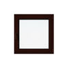 Eurowindows Group 36-in x 36-in Tilt and Turn Series 1-Lite Vinyl Double Pane Replacement Casement Window