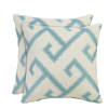 allen + roth Set of 2 Sunbrella Calypso UV-Protected Outdoor Accent Pillow
