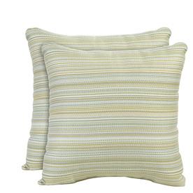 allen + roth Set of 2 Sunbrella Spring UV-Protected Outdoor Decorative Pillows