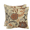 allen + roth Set of 2 Sunbrella Marble UV-Protected Outdoor Accent Pillow