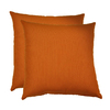 allen + roth Set of 2 Sunbrella Cayenne UV-Protected Outdoor Accent Pillow