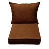 allen + roth Brown Solid Cushion for Universal Use