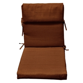 allen + roth Rust Texture Cushion for High-Back Chair