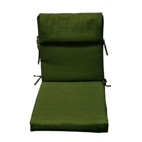 allen + roth Green Texture Cushion for High-Back Chair